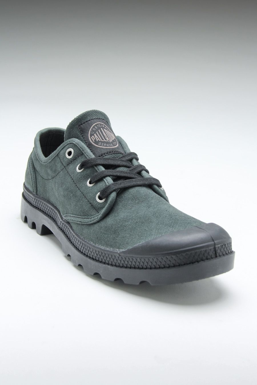 22908c42453e Palladium Pampa Oxford Stonewashed Black