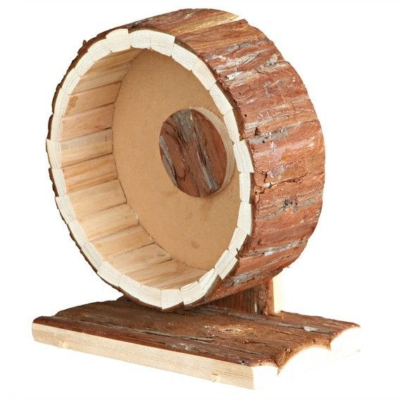 Natural Living Exercise Wheel 20cm Hamster habitat