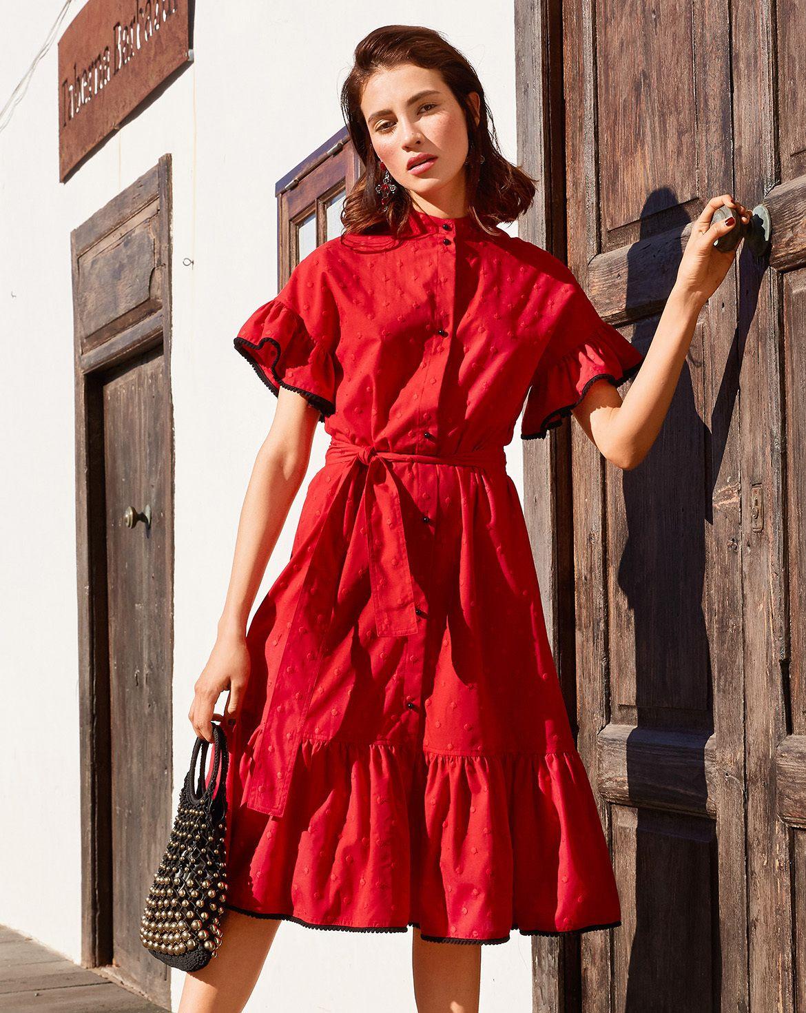 Красное Платье Бурда