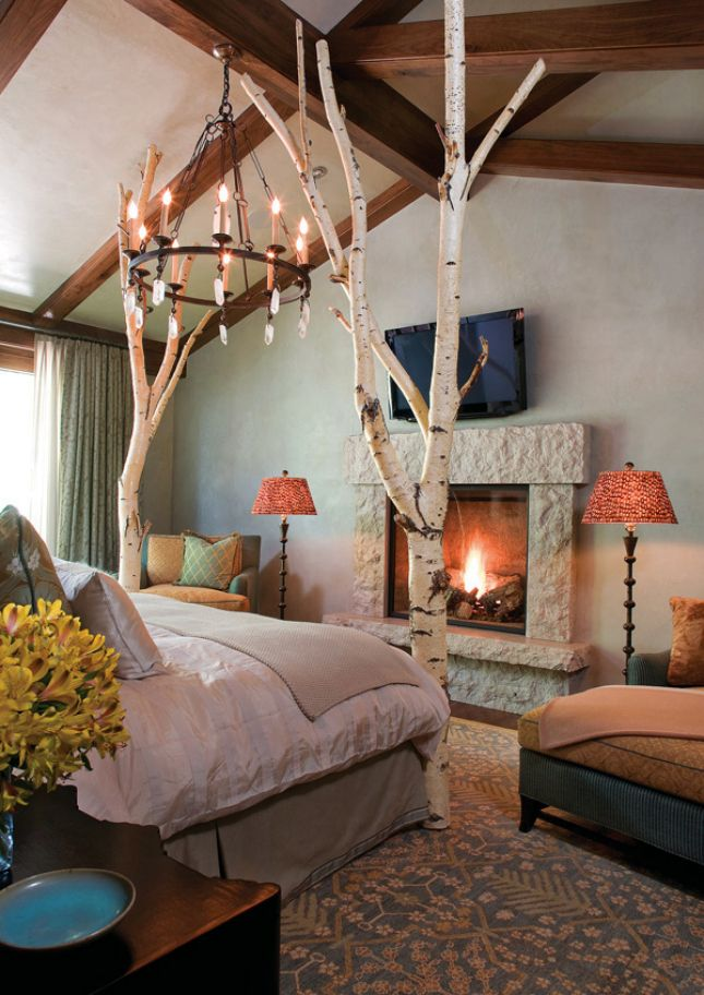 Beautiful 24 Creative Ways To Decorate With Branches. Tree BedroomBedroom IdeasTree  ...