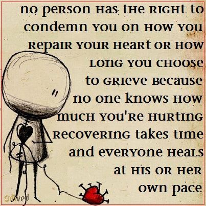 No Person Has The Right To Condemn You On How You Repair Your