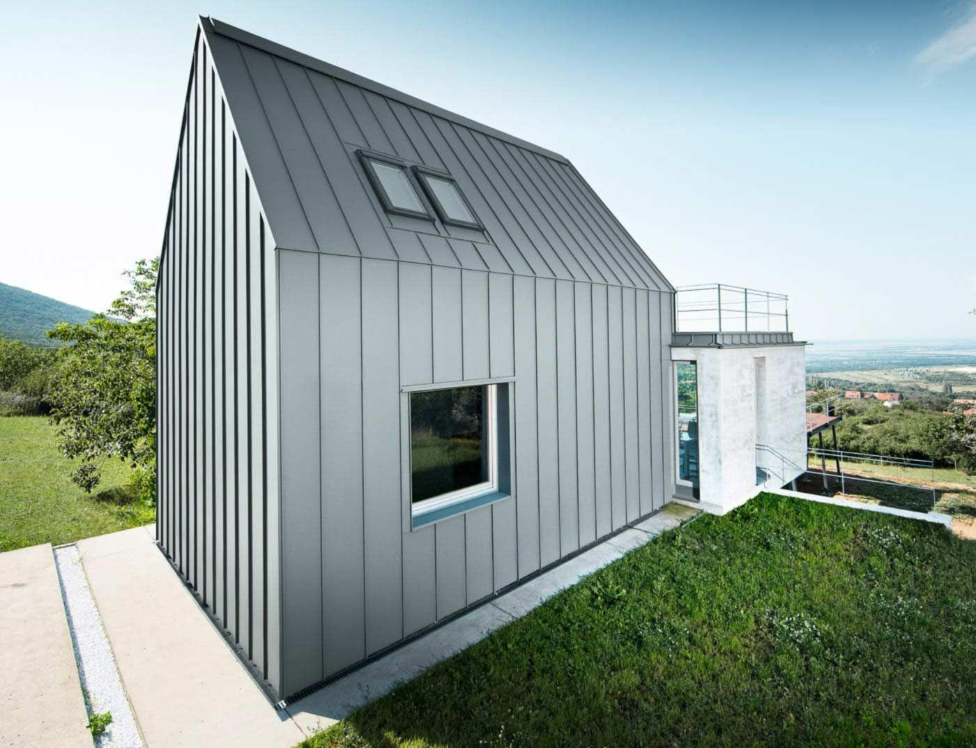 Reference buildings PREFA Roof systems Prefalz® 07 light