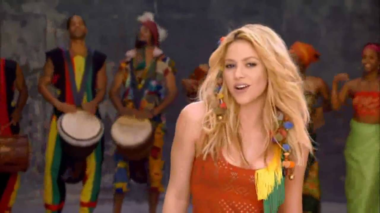 Ipl Waka Waka By Shakira Shakira World Cup Song Popular Music Videos