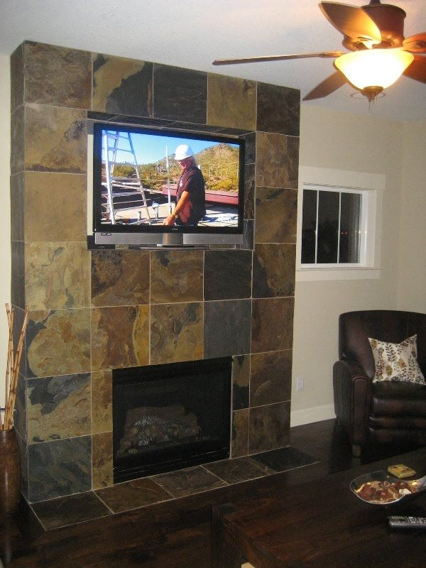 Fireplace idea maybe.... TV above??