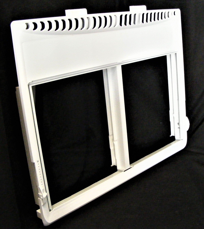 5304497604 242087903 Frigidaire Refrigerator Crisper Cover With Glass In 2021 Frigidaire Refrigerator Frigidaire Cover