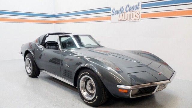 Gray 1970 Chevrolet Stingray Corvette V8 Automatic Classic Car Used Car For Sale In Houston Heights 77008 Mo Chevrolet Corvette Chevrolet Stingray Chevrolet