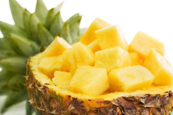 Pineapple is one of summer's most popular fruits simply because it's so delicious. But if you want more reasons, look no further: A rich source of manganese, vitamin C, vitamin B1 (thiamin), copper, fiber, and vitamin B6, this juicy fruit is a super snack for fueling energy.
