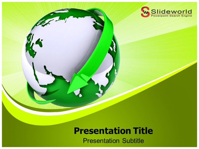 Go Green Powerpoint Template Http Www Slideworld Com Ppt Templates Download Powerpoint Templates Aspx Green Powerpoint Templates Powerpoint Presentation