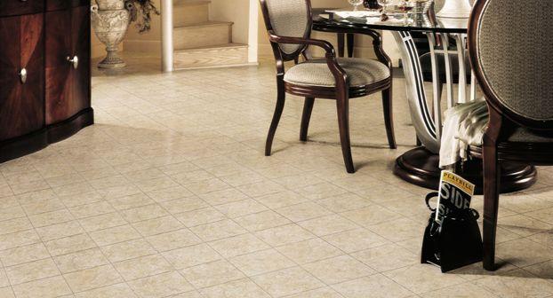 Vinyl Flooring Photos Of Rooms | Type: Vinyl Flooring Manufacturer:  Mannington Look: Tile