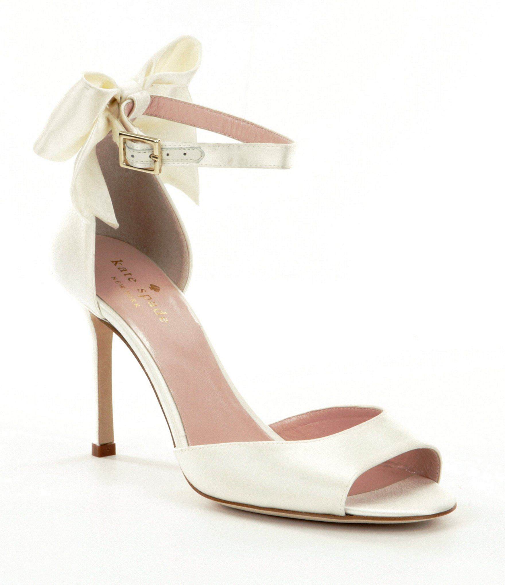 Shop For Kate Spade New York Izzie Bow Detail Satin Ankle