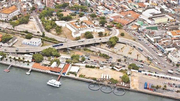 """Vista do """"Forte de 5 Pontas"""". #Recife. Estado de Pernambuco, Brasil."""