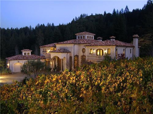69 million estate vineyard property in calistoga california