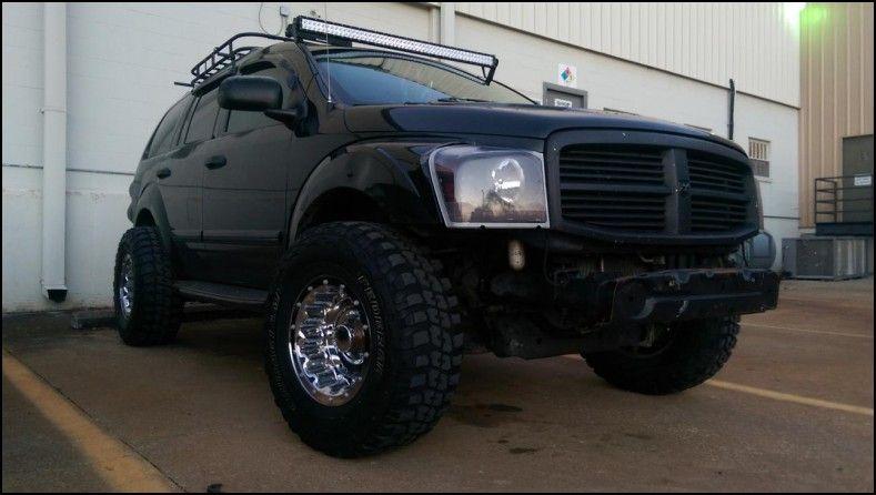 Dodge durango tire sizes