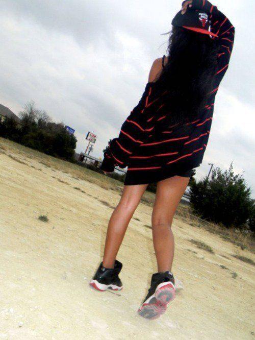 girls in jordans | Tumblr