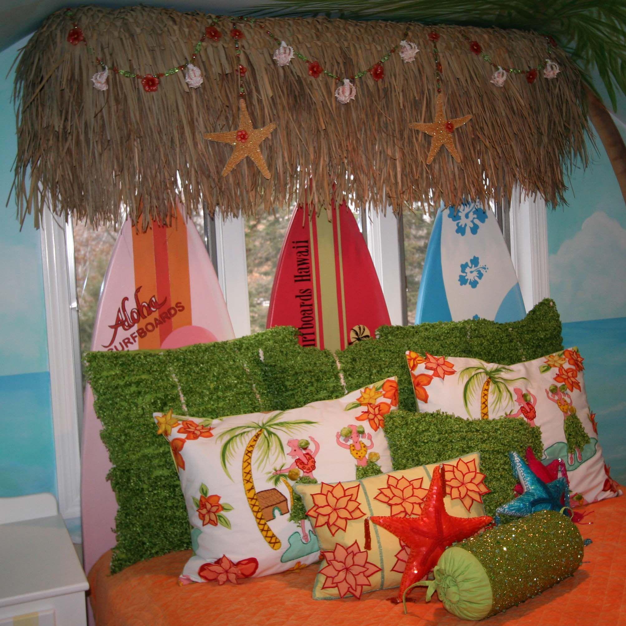 50's Surf Shop, Tiki, Hawaiian Prints, Hula