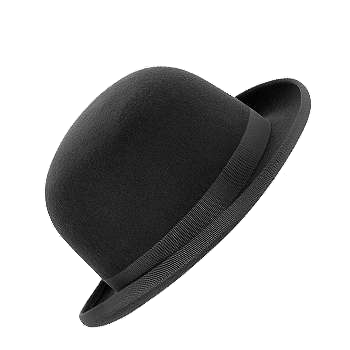 Bombetta Png Black Bowler Hat Bowler Hat Hats