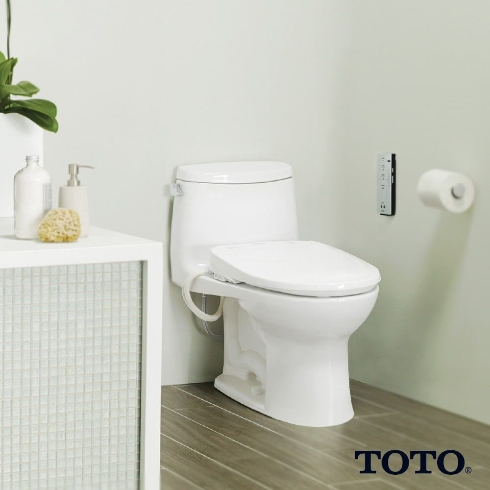Toto Washlet S350e Electronic Bidet Toilet Seat With Auto Open And