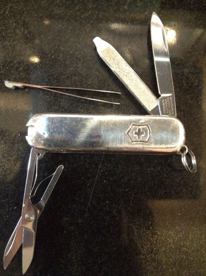 Tiffany Amp Co Victorinox Swiss Army Knife 925 Sterling 750