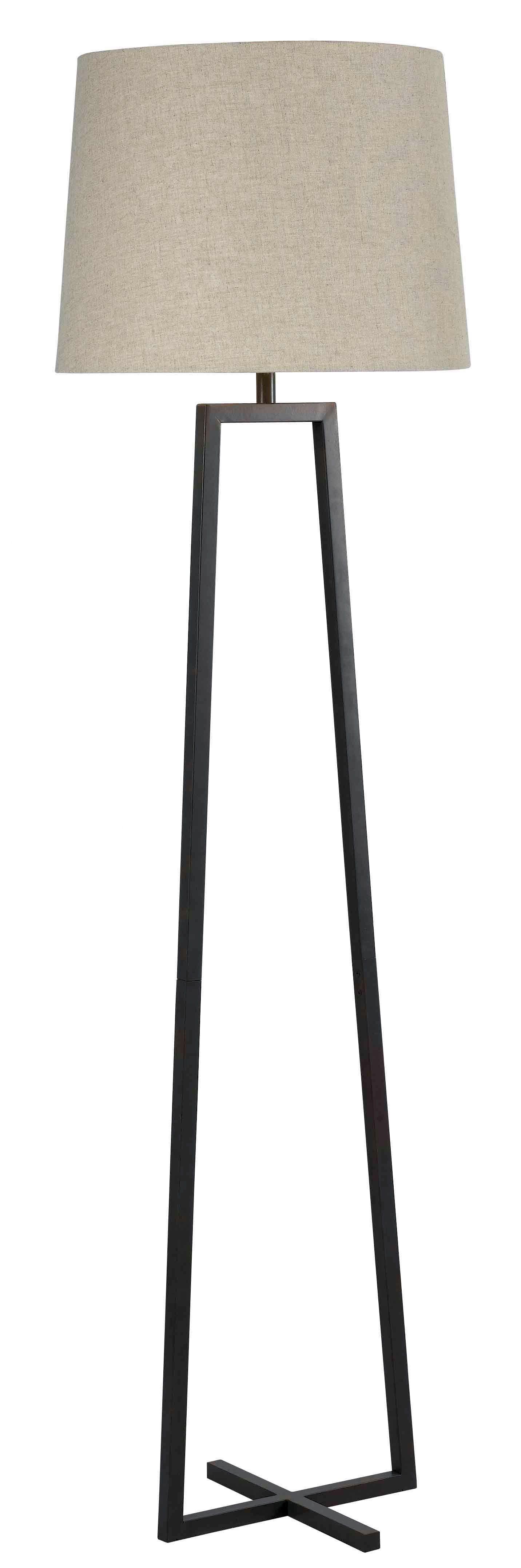 Kenroy Home Ranger Floor Lamp In Oil Rubbed Bronze Floor Lamp Floor Lamp Bedroom Floor Lamps Living Room