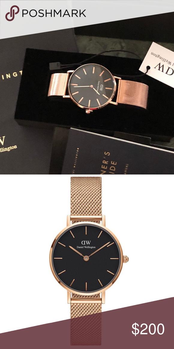 3934d6da284a Daniel Wellington Classic Petite Melrose New in the box + Bag. 40mm Daniel  Wellington Accessories Watches