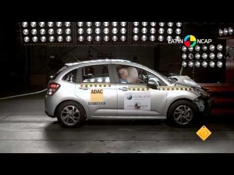 Crash Test com o Citroën C3