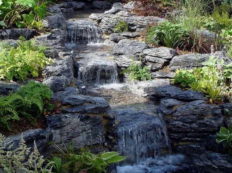 Cascade Bassin De Jardin 27 Idees Creer Votre Havre De Paix Pools