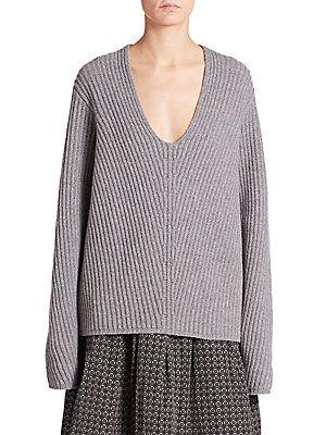 3bc81917492fe Acne Studios Deborah Ribbed Wool Sweater