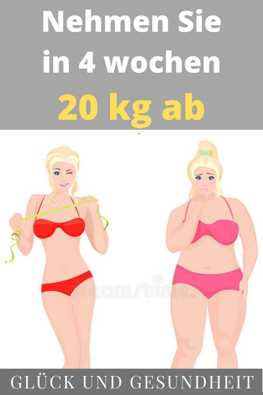 Diäten zum Abnehmen in einer Woche 20 Kilo