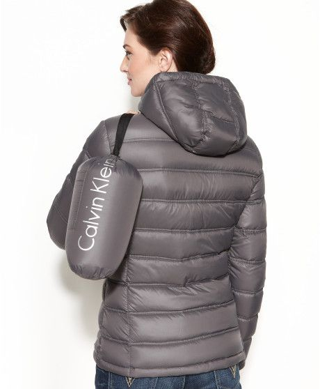 81470649aca6 My Travel Packing List  Calvin Klein Packable Hooded Quilted Puffer Coat