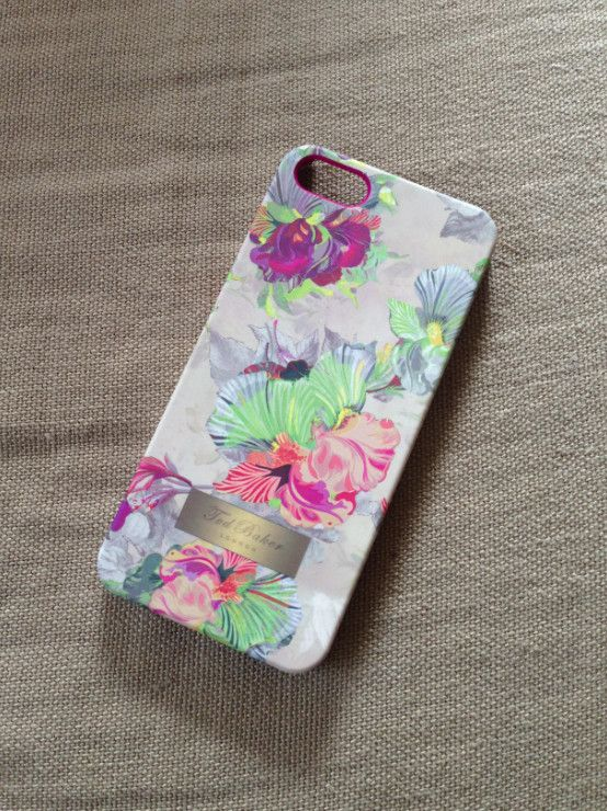 My new Ted Baker case for my iPhone 5