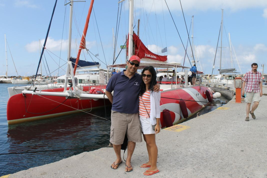 Santorini Sailing Sailing Adventure Greece Epic DREAM CATCHER Awesome Dream Catcher Boat Santorini