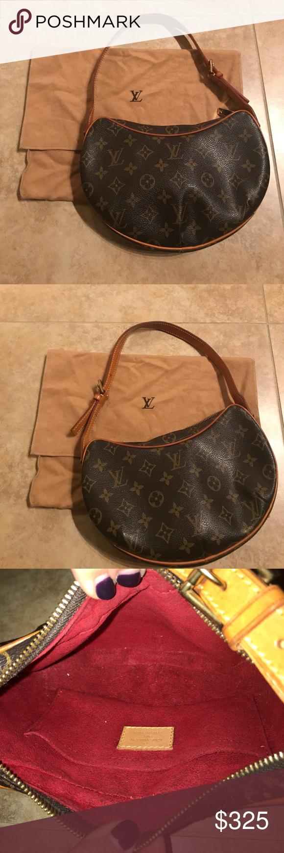 a42a99e3c7e AUTHENTIC Louis Vuitton small purse. AUTHENTIC Louis Vuitton small kidney  shape bag. Gently used. With dust bag. Louis Vuitton Bags Shoulder Bags