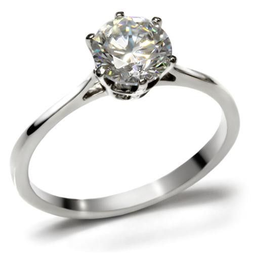 386f9ffbfb47c A Classic 1CT Round Cut Solitaire Russian Lab Diamond Engagement ...