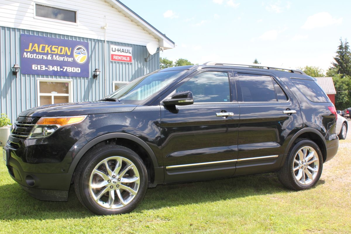SOLD! 2013 Ford Explorer Limited 4Wheel Drive w/Terrain