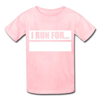 Writeable Declare what you RUN FOR Kids' T-Shirt