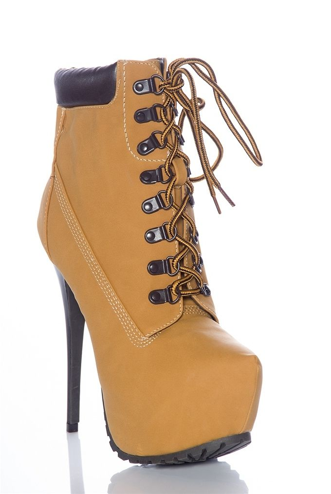 13 Stunning High Heel Construction Boots Photo Ideas Cute Shoes 4aeb3a53cb