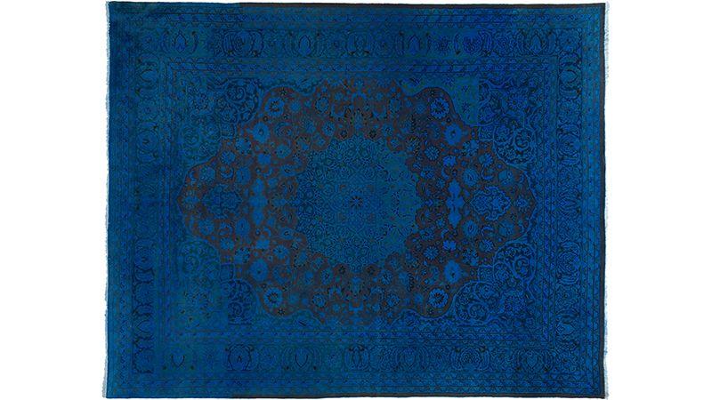 Blauer Teppich By Kiskan Process Orientteppich