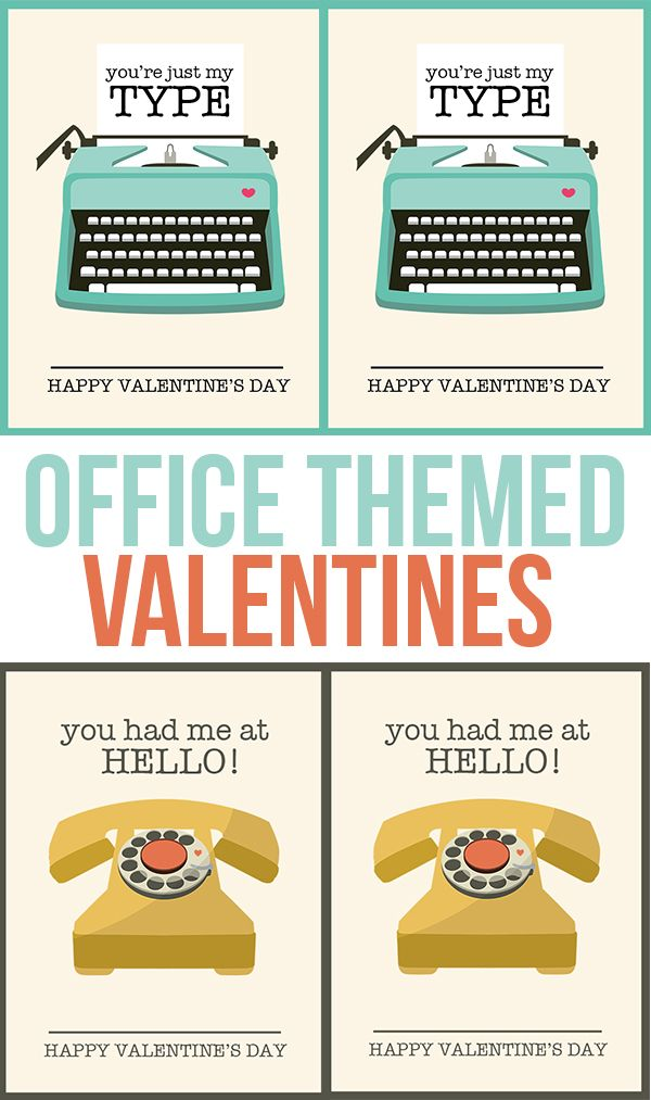 Darling Office Valentines For Co Workers Interns And Friends