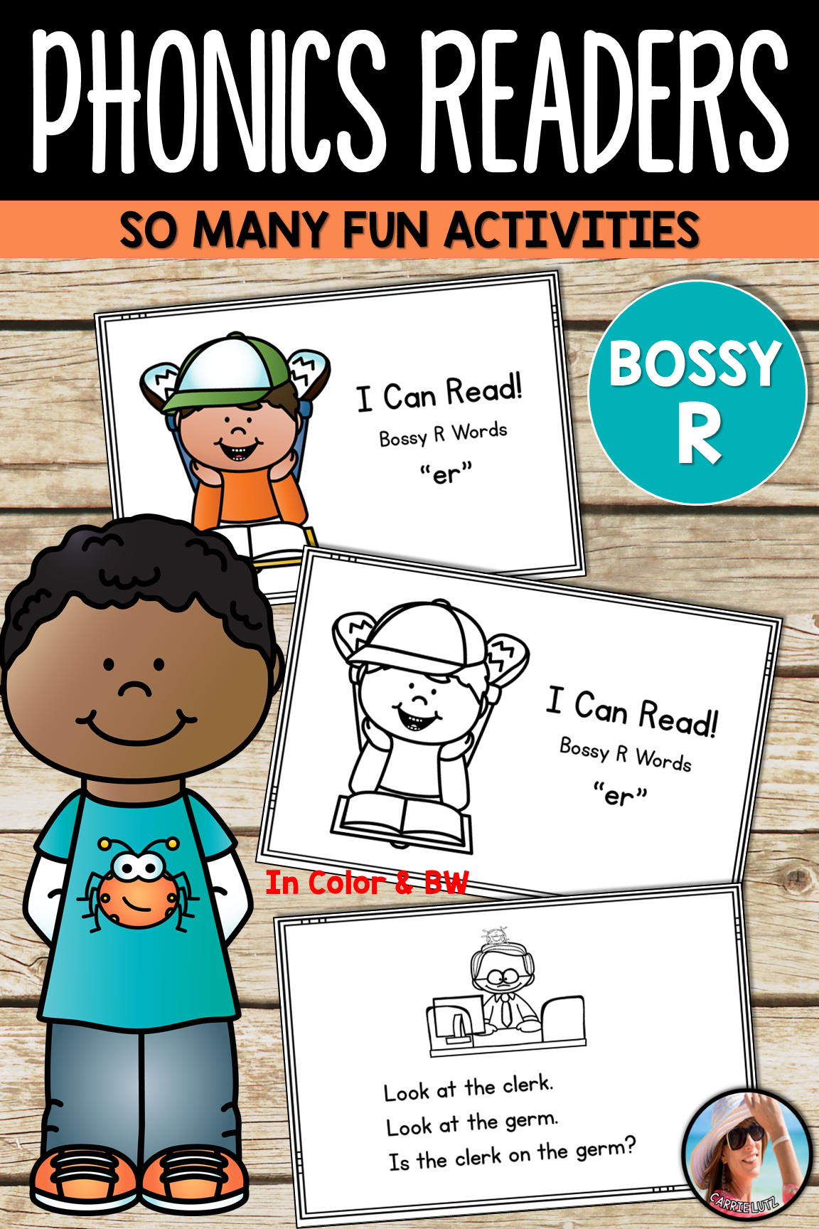 Phonics Readers Bossy R R Controlled Vowels