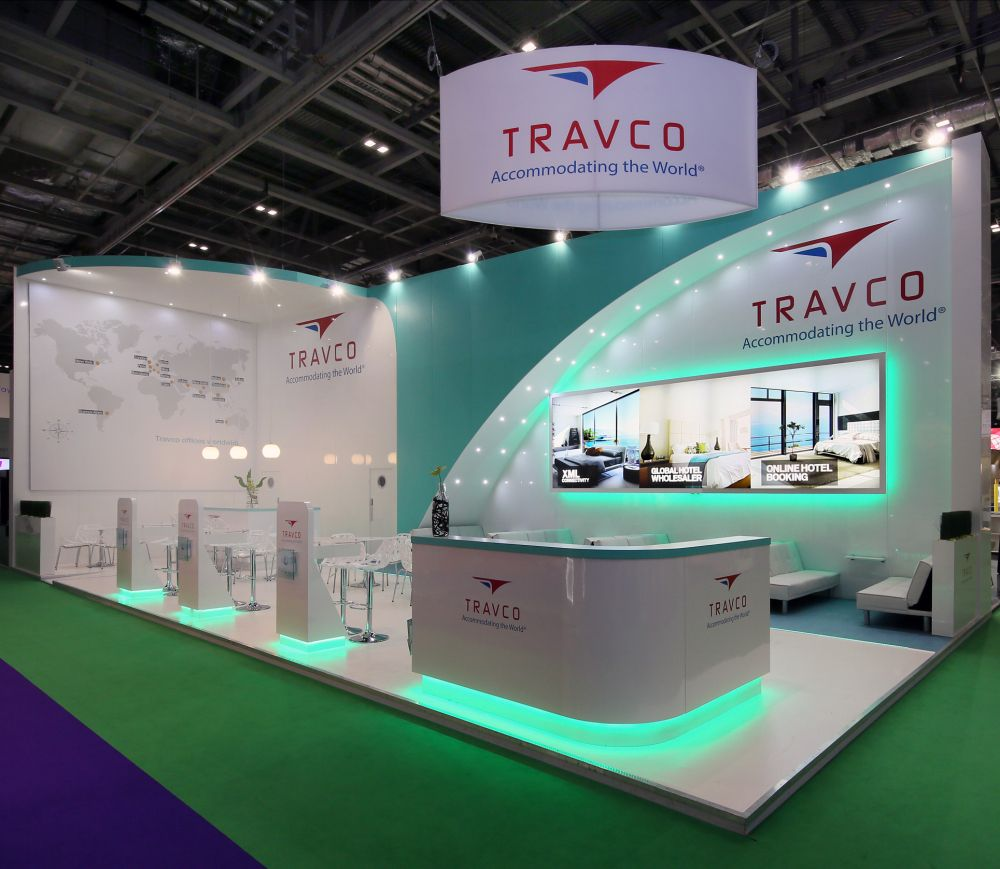 New Exhibition Stand Design : Travco new stand design show booth trade