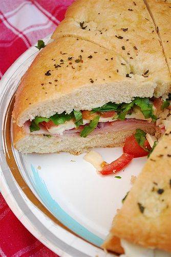 Tailgate Sandwich - Recipe from Your Homebased Mom