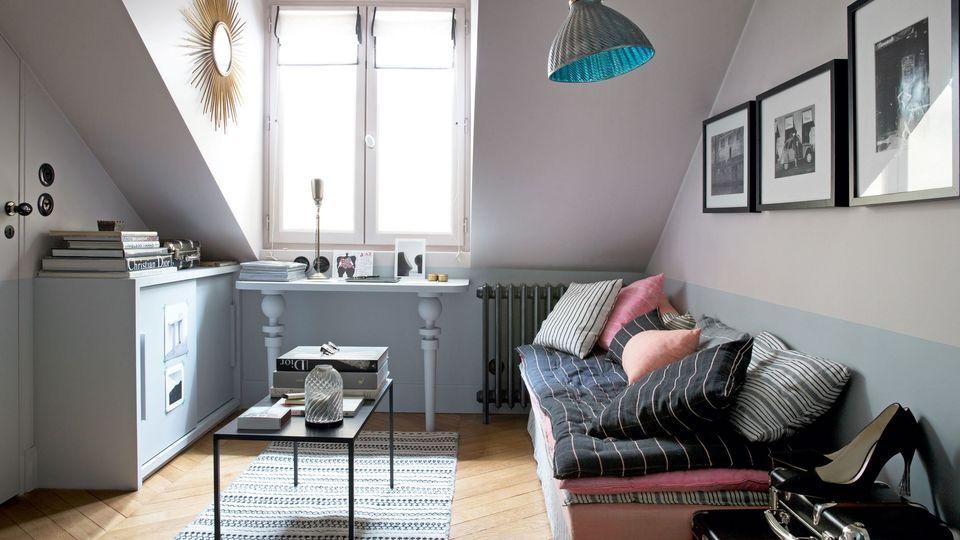 Studio Paris Marais  11 m2 rénovés sur mesure compact living