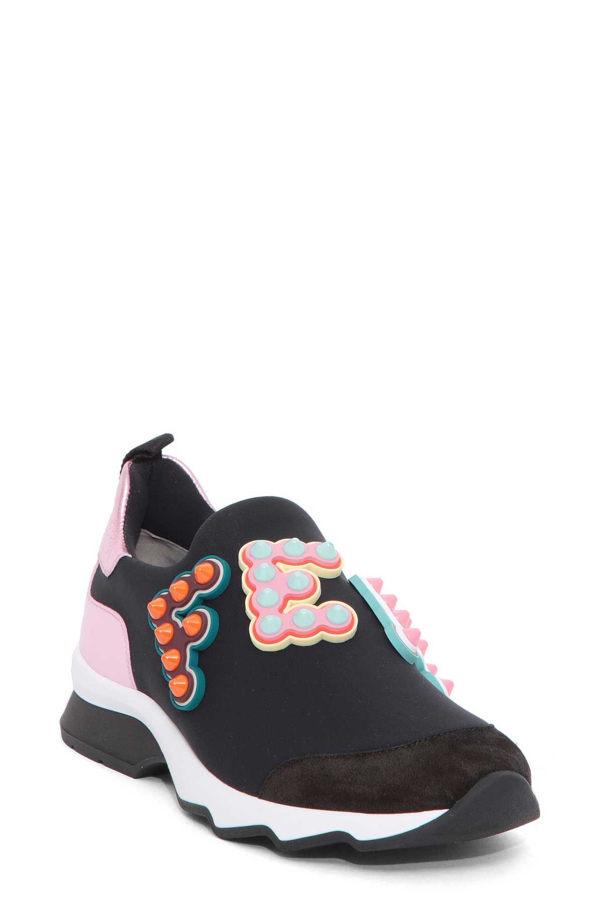 Fendi Fendi Multicolor Sneaker Fendi