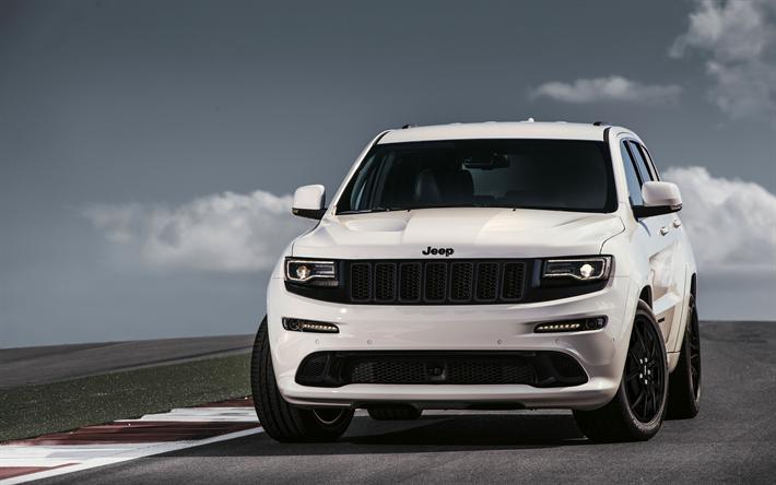2019 Jeep Grand Cherokee New Generation: Changes, Specs, SRT >> Download Wallpapers Jeep Grand Cherokee Srt 4k 2018 Cars Suvs