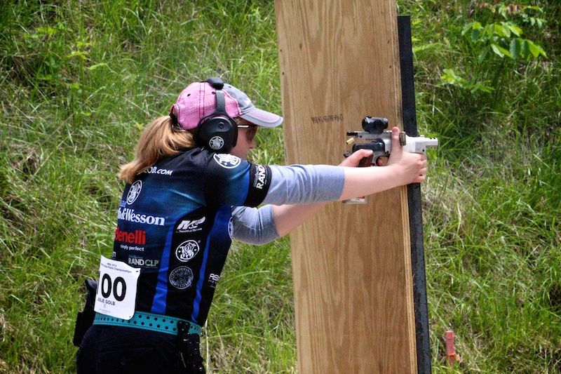 Julie Golob finished second at the World Action Pistol