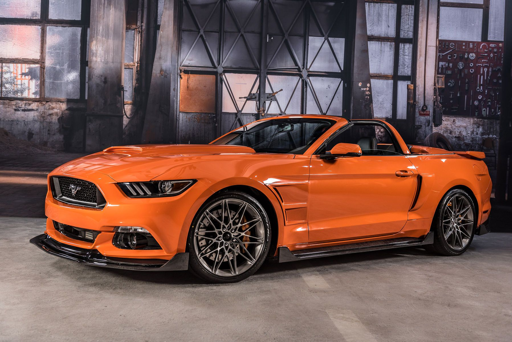 Ford Sema 2016 2017 Mustang Convertible By Schcraft Interiors