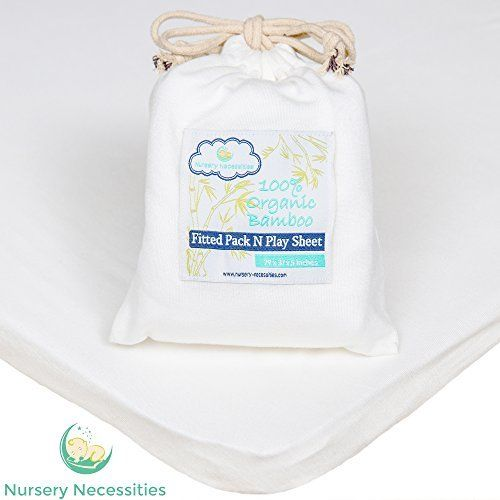 100% ORGANIC Bamboo Pack N Play Sheet - #1 Softest - Superior to Cotton - Silky Soft, Antibacterial, Hypoallergenic - By Nursery Necessities, http://www.amazon.com/dp/B0153G82RS/ref=cm_sw_r_pi_awdm_AwGBwb1EHSP24