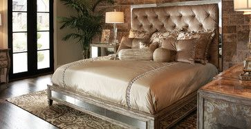 Marge Carson - Design Folio Collection - transitional - Bedroom - Dallas - J. Douglas Design