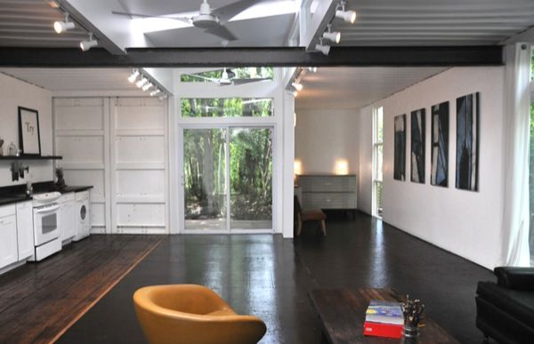 Two Shipping Containers Turned into a Small House | Smallest house ...