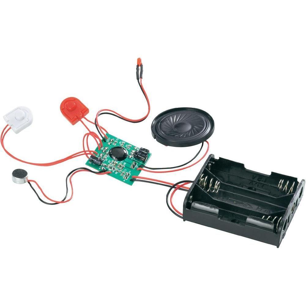 sten (Wiedergabe/Aufnahme) Kondensator-Mikrofon Aufnahme-Kontroll-LED Lautsprecher